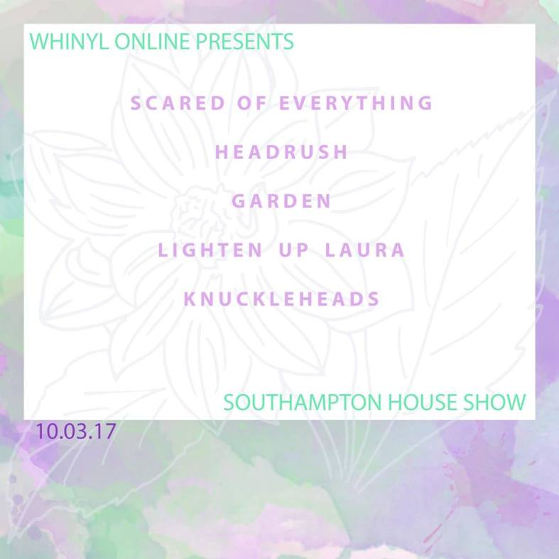 house show poster